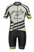 guilty 76 racing Velo Club Pro Race - Maillot manches courtes Homme - gris